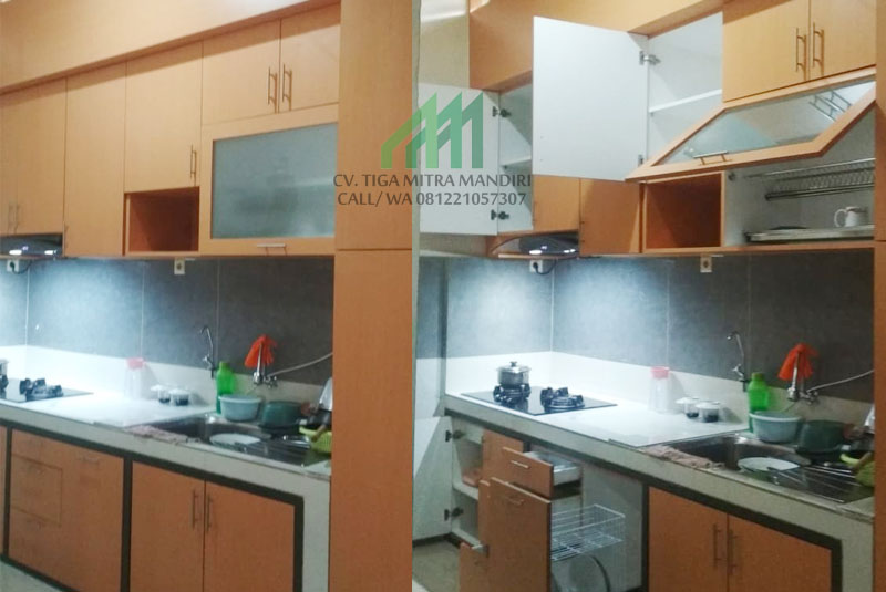 kitchen set custom murah